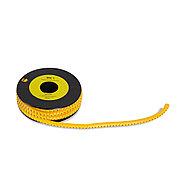 """Маркер кабельный Deluxe МК-1 (2.6-4,2 мм) символ """"6"""" (1000 штук в упаковке), фото 2"""