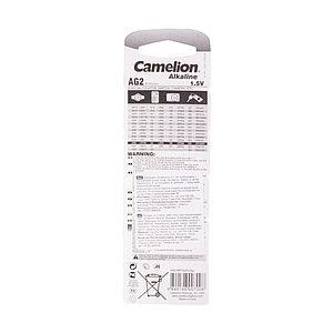 Батарейка CAMELION Alkaline AG2-BP10(0%Hg) 10 шт. в блистере