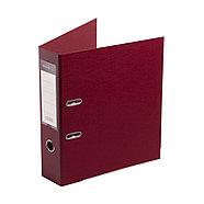 """Папка–регистратор Deluxe с арочным механизмом, Office 3-WN8 (3"""" WINE), А4, 70 мм, бордовый, фото 3"""