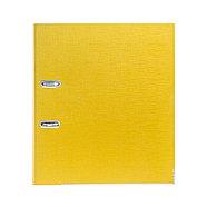 "Папка–регистратор Deluxe с арочным механизмом, Office 3-YW5 (3"" YELLOW), А4, 70 мм, желтый, фото 2"