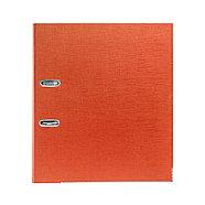 """Папка–регистратор Deluxe с арочным механизмом, Office 3-OE6 (3"""" ORANGE), А4, 70 мм, оранжевый, фото 2"""