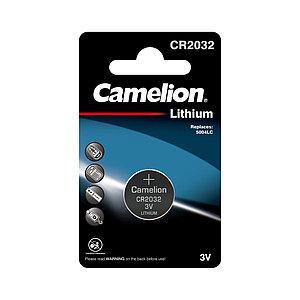 Батарейка CAMELION Lithium CR2032-BP1