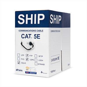 Кабель сетевой SHIP D146-P Cat.5e FTP 30В РЕ
