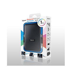 """Внешний жёсткий диск Apacer 1TB 2.5"""" AC631 Синий"""