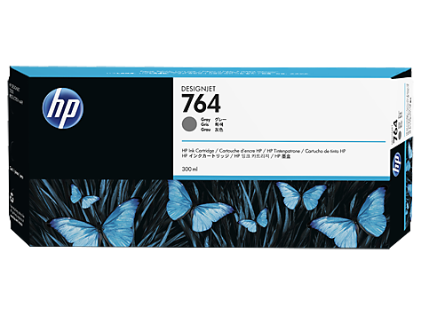 HP C1Q18A Картридж серый HP 764 для Designjet T3500