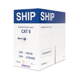 Кабель сетевой SHIP D165A-L Cat.6 UTP 30В LSZH