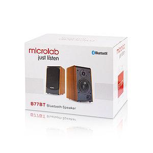 Колонки Microlab B77BT Чёрно-коричневый