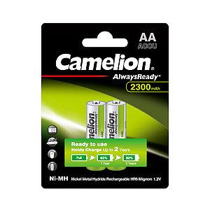 Аккумулятор CAMELION AlwaysReady Rechargeable Ni-MH NH-AA2300ARBP2 2 шт. в блистере