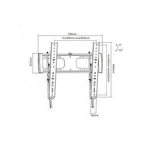 """Кронштейн Brateck LP27-44T для ТВ и мониторов, 32""""-55"""""""
