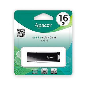 USB-накопитель Apacer AH336 16GB Чёрный