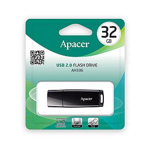 USB-накопитель Apacer AH336 32GB Чёрный
