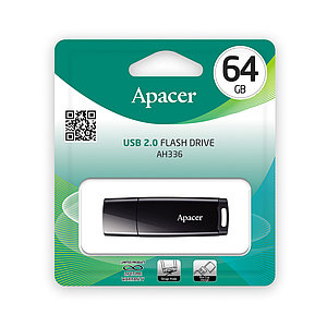 USB-накопитель Apacer AH336 64GB Чёрный