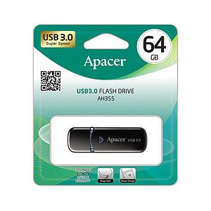 USB-накопитель Apacer AH355 64GB Чёрный