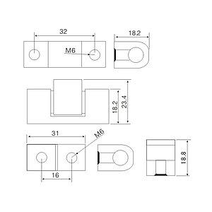 Навес для шкафов Deluxe JL 45-1