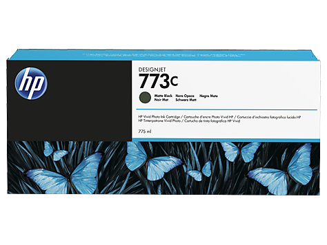 HP C1Q37A Картридж черный матовый HP 773C для Designjet Z6600, Z6800