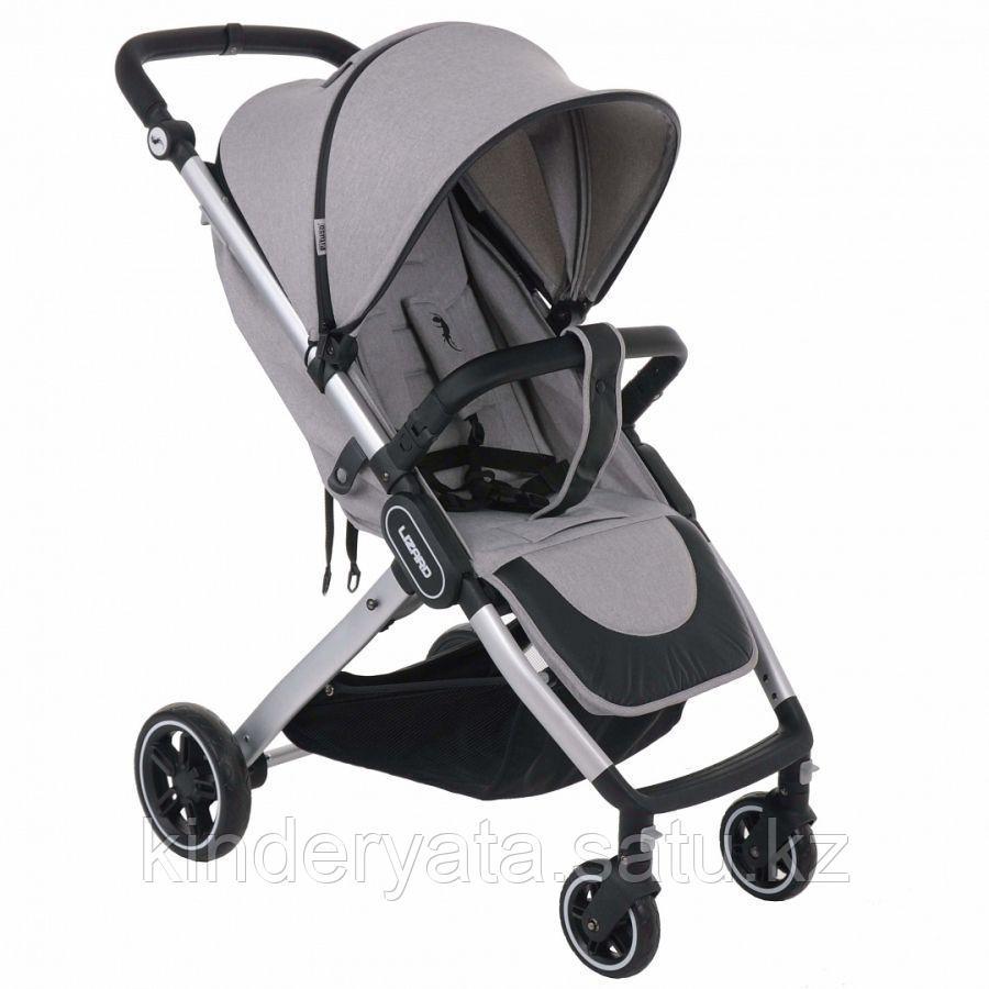 PITUSO коляска детская прогулочная LIZARD GREY серый чехол на ножки