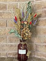 Букет из сухоцветов, высота 55-60 см