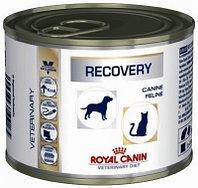 Royal Canin Recovery Canin & Feline консервы для собак и кошек в период анорексии, выздоровления, банка 195 гр