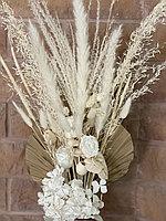 Букет из сухоцветов, название НЕВЕСТА, высота 65 см