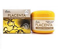 Ekel Ample Intensive Cream Placenta - Крем для лица с плацентой 100г
