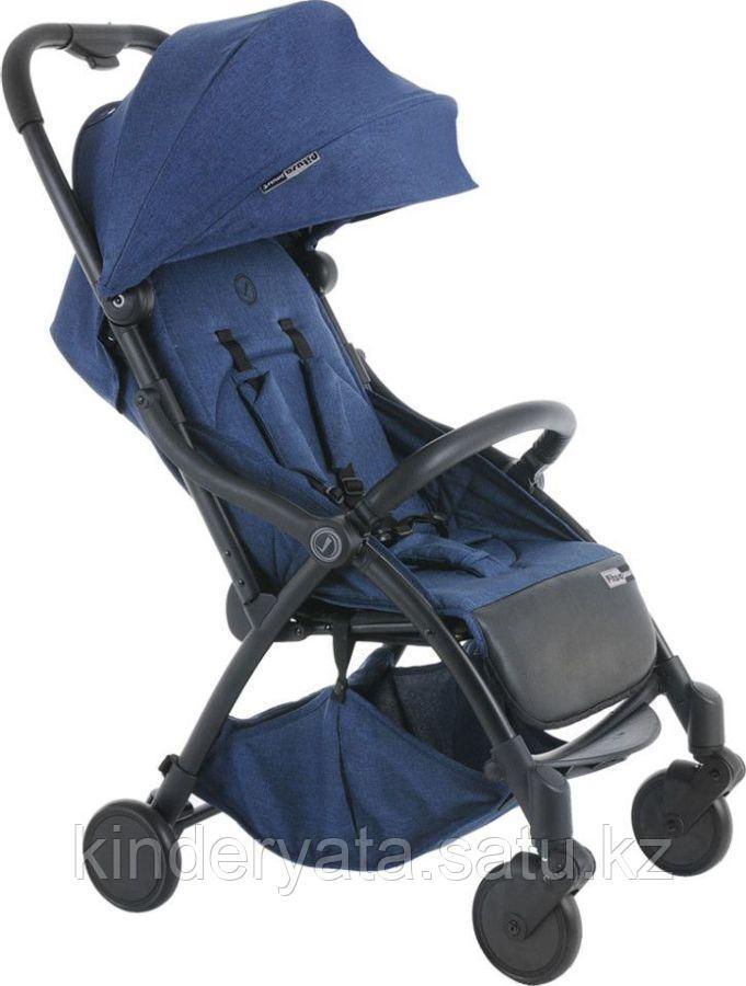 PITUSO коляска детская прогулочная SMART JEANS джинсовый, лавандовый,бирюзовый лен
