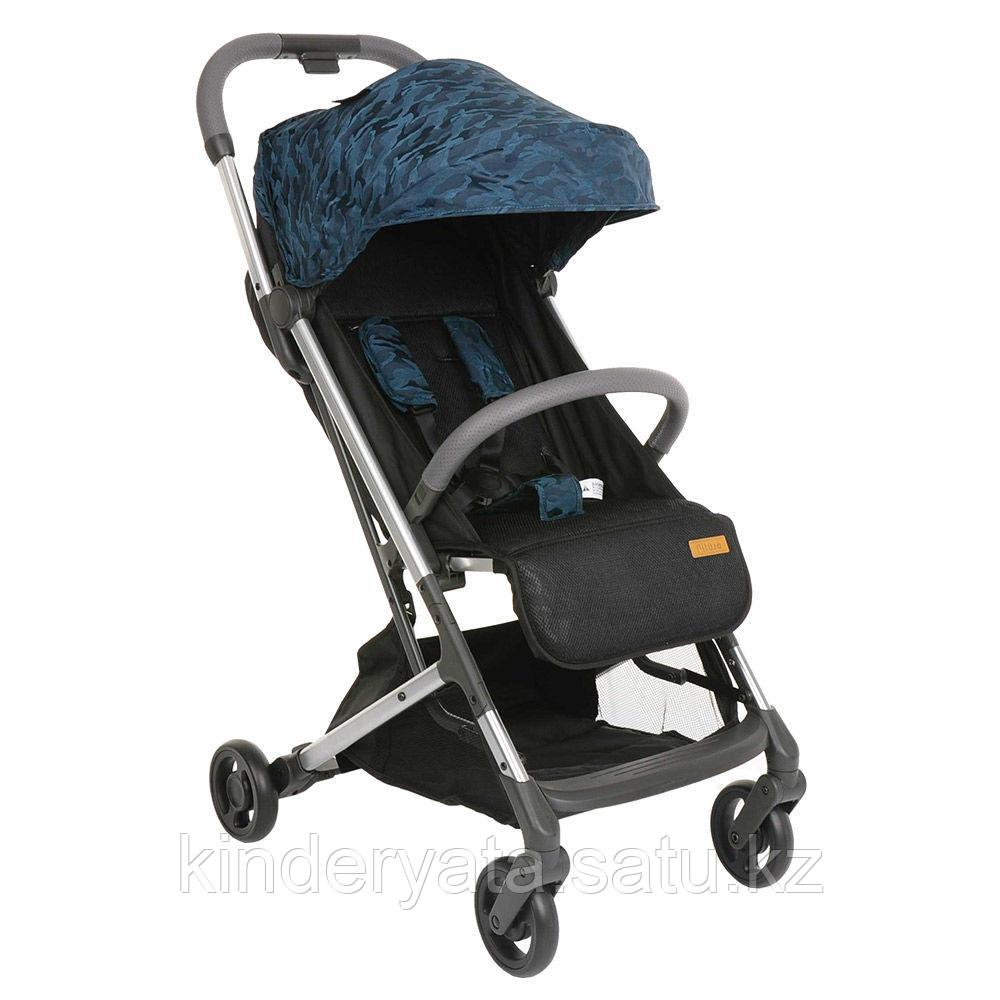 PITUSO коляска детская прогулочная STYLE Camouflage blue КАМУФЛЯЖ синий, фиолетовый