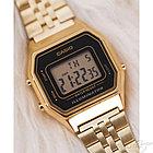Электронные наручные часы Casio LA-680WEGA-1B. Оригинал 100%. Классика. Kaspi RED. Рассрочка, фото 3
