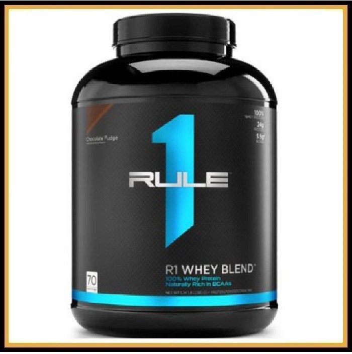 R1 Whey Blend 2.3кг (ваниль)