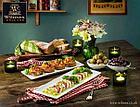 Блюдо Wilmax для суши/канапе 35,5 см, фото 4