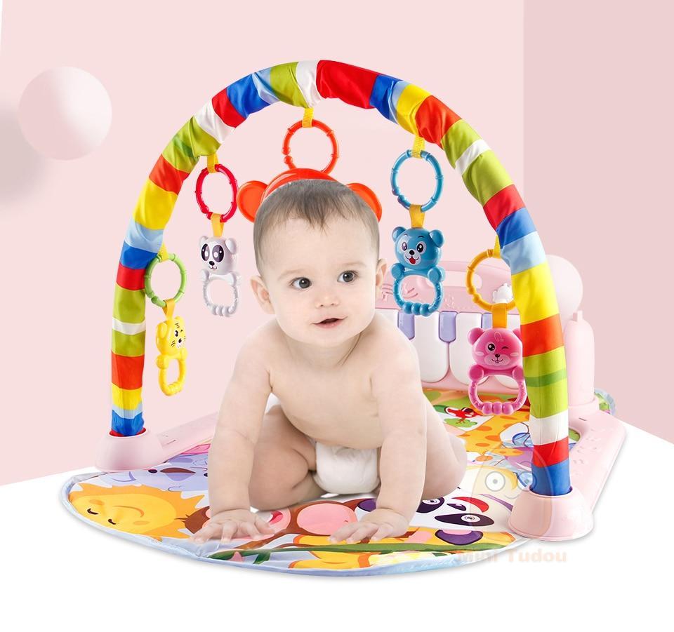 Детский гимнастический коврик Tapis - фото 6