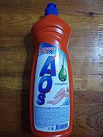 Средство для мытья посуды жидкое AOS глицерин