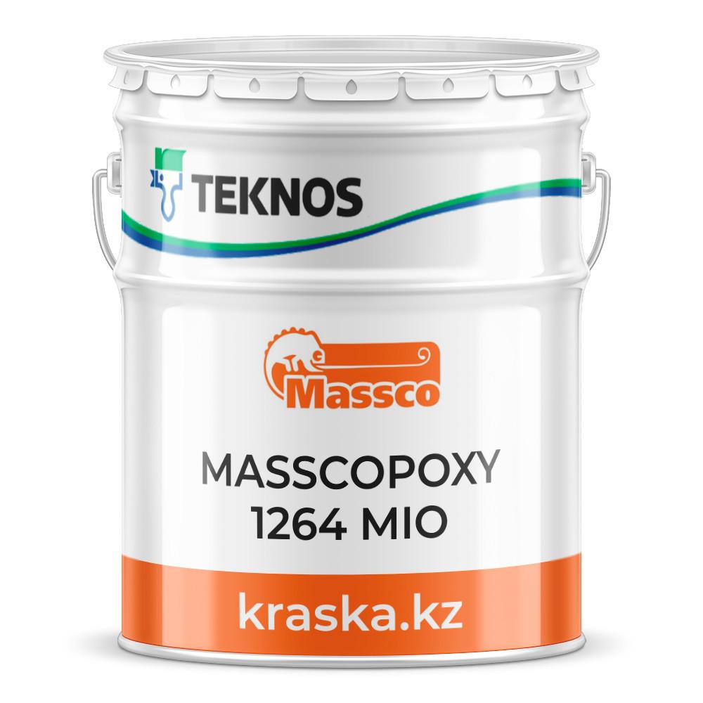 MASSCOPOXY 1264 MIO Двухкомпонентная толстослойная эпоксидная грунт-эмаль, содержащая слюдяной оксид железа