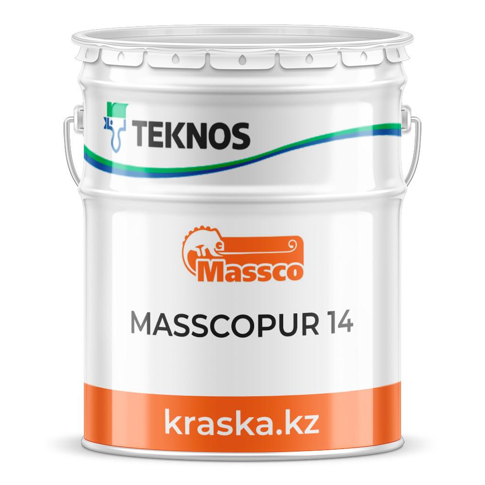 MASSCOPUR 14  Двухкомпонентная полиуретановая эмаль