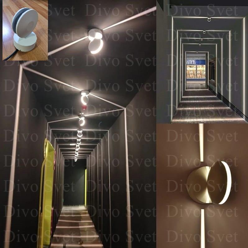 """LED светильник """"Поворотный луч 360гр"""" 9 W. Светодиодный светильник декоративный"""