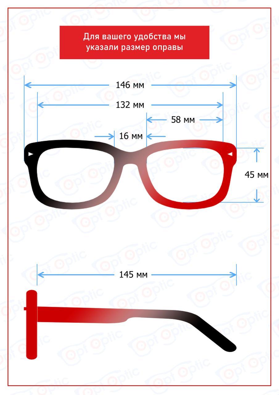 Очки солнцезащитные Polarized с бамбуковыми дужками - фото 5