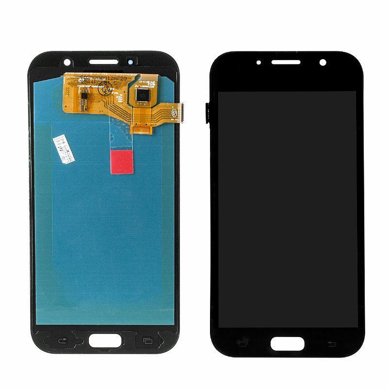 Дисплей Samsung Galaxy A7 (2017) A720 Oled в сборе Black (24)