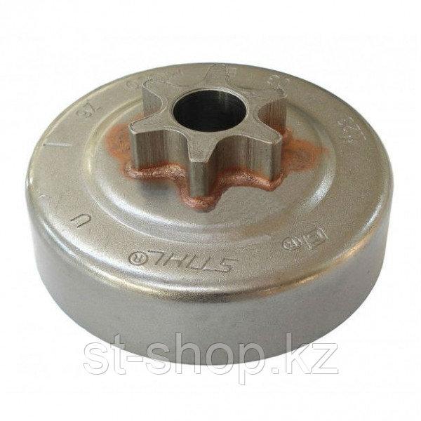 Цепная звездочка барабан 11236402003 3/8Р-6Z STIHL для бензопил MS 170, MS 180, MS 210, MS 230, MS 250