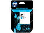 HP C4911A Картридж голубой HP 82 для Designjet 820/500/510/800/815