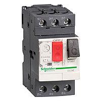 GV2 Автоматический выключатель с комбинированным расцеплением 2,5-4А Schneider Electric