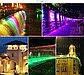Архитектурный светодиодный линейный светильник 24W RGB (цветной) 1 метр, фасадный, уличный, для зданий., фото 5