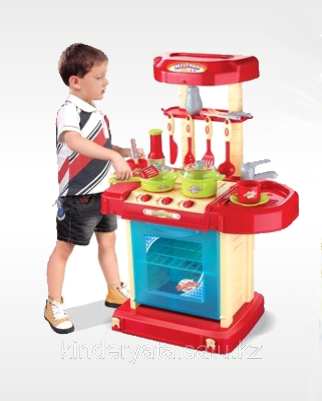 Детская игровая кухня Xiong Cheng Юный Кулинар