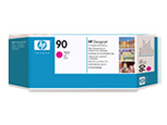 HP C5056A Печатающая головка пурпурная и устройство очистки HP 90 для DesignJet 4000/4500