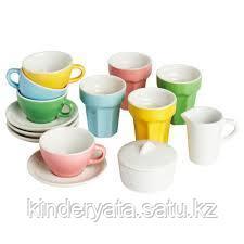 Посудка детская керамическая Икея