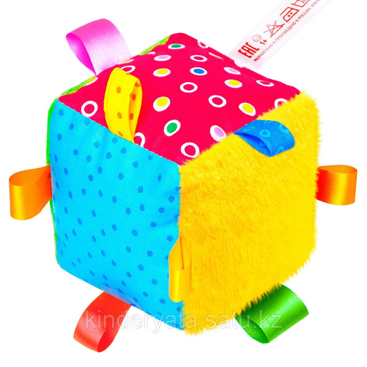 Игрушка «Кубик с петельками»