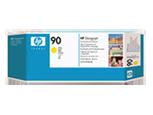 HP C5057A Печатающая головка желтая и устройство очистки HP 90 для DesignJet 4000/4500.