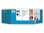 HP C5058A Картридж черный HP 90 для Designjet 4000/4020/4520/4500