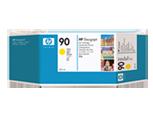 HP C5064A Картридж желтый HP 90 для Designjet 4000, 4000ps, 4500mfp, 4020, 4500, 4520