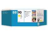 HP C5065A Картридж желтый HP 90 для Designjet 4500mfp, 4000, 4000ps, 4020, 4020ps, 4500, 4500ps, 4520, 4520ps