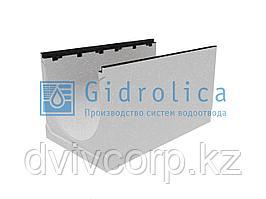 Лоток водоотводный бетонный коробчатый (СО-500мм), с чугунной насадкой  КU 100.60,3 (50).55(46) - BGZ-S, №