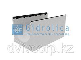 Лоток водоотводный бетонный коробчатый (СО-500мм), с чугунной насадкой  КU 100.60,3 (50).52,5(43,5) - BGZ-S, №